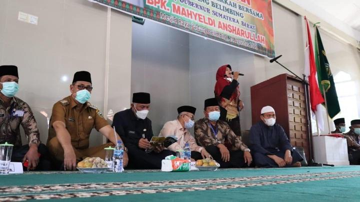 Mahyeldi: Waqaf Potensi Umat Gerakan Ekonomi Nagari