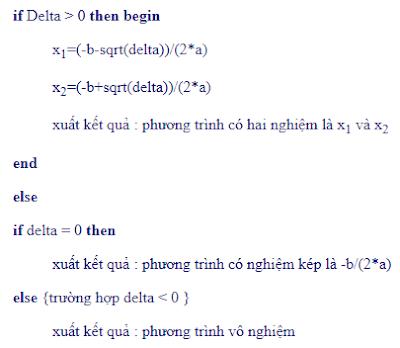 Giả mã giải phương trình bậc 2 - tinhoccoban.net