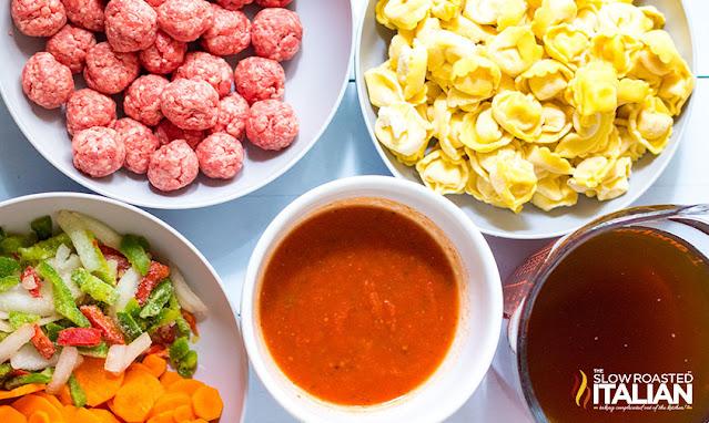 slow cooker tortellini soup ingredients