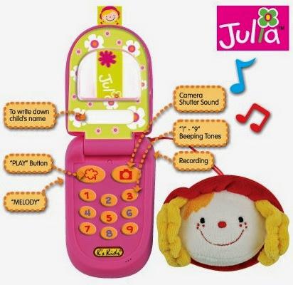Điện thoại cho bé màu hồng mã KA10517-GB