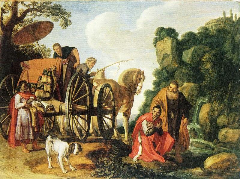 Pieter Lastman - The Baptism of the Eunuch