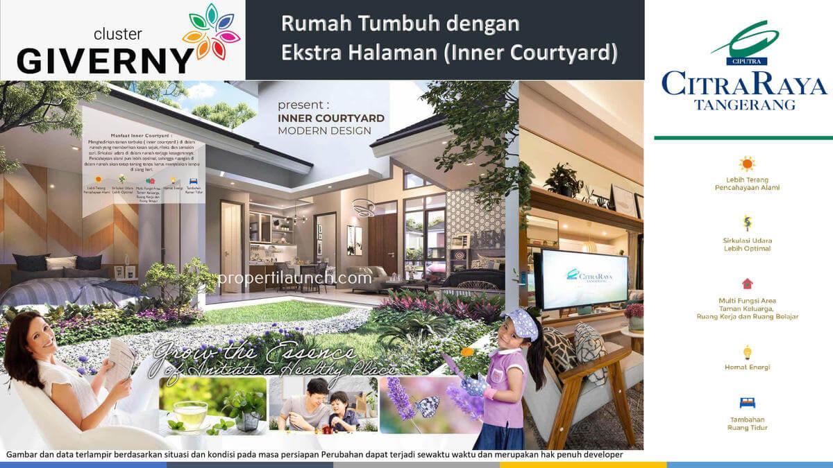 Rumah Giverny Citra Raya - Inner Court
