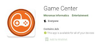 Game Center Apk Dapatkan Disini Aja