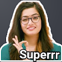 Rashmika Mandanna Stickers (WAStickerApps) icon