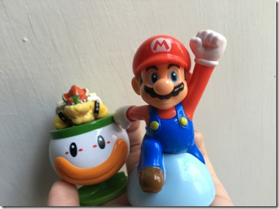 Super Mario X Mcdonald happy meal 2016