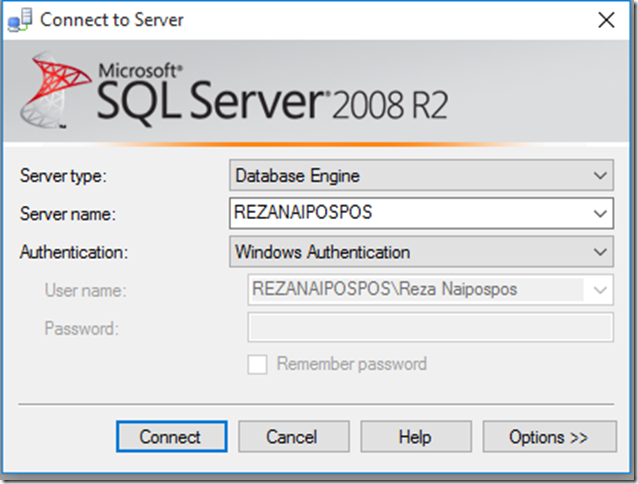 Database & Model Open
