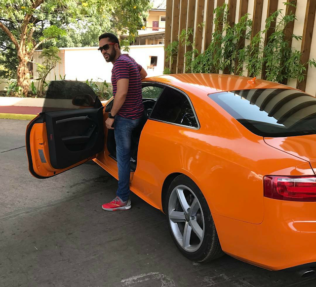 RNS : Checkout Majid Michel's Brand new Lamborghini that will inspire you to work hard