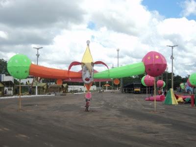 IMAGEM - Portal da Cidade de Bacabal (Centro Cultural) - Local de realização do carnaval