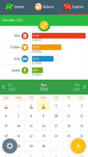 Expense Manager - Tracker  screenshots 1