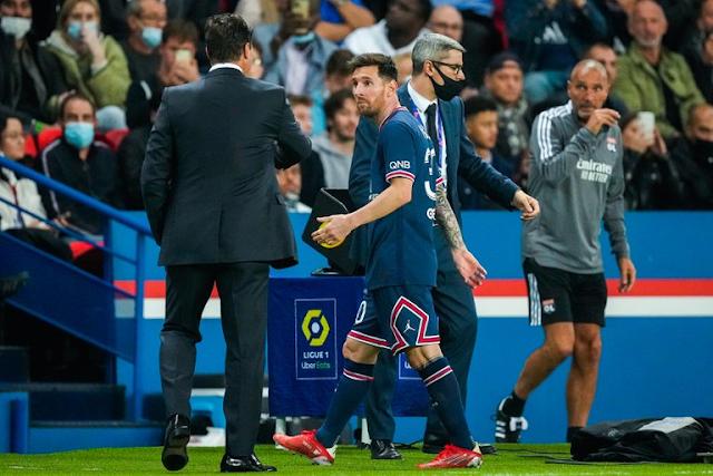 Lionel Messi está lesionado y se pierde el próximo partido del PSG