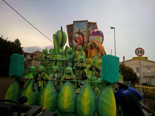 Carnevale dei ragazzi di Sant'Eraclio: carro del miglior cantiere