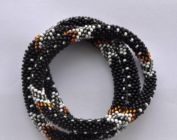 Nepal Glass Bead Bracelets