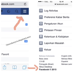 tips, share link from smartphone to facebook group