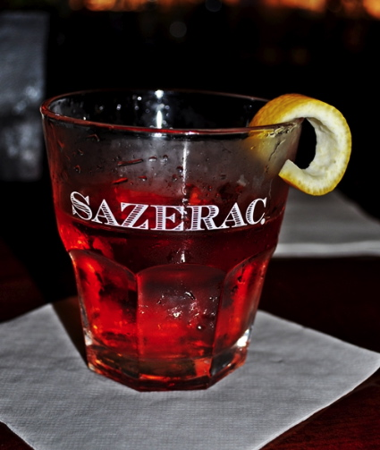 Sazerac Cocktail http://www.kitchycooking.com/2011/08/sazerac-cocktail/