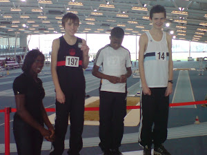 Essex Indoor T&F Champs - Lee Valley