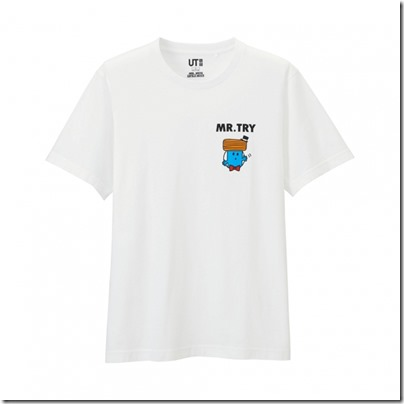 UNIQLO Mr. Men Little Miss UT Graphic T-Shirt man 14