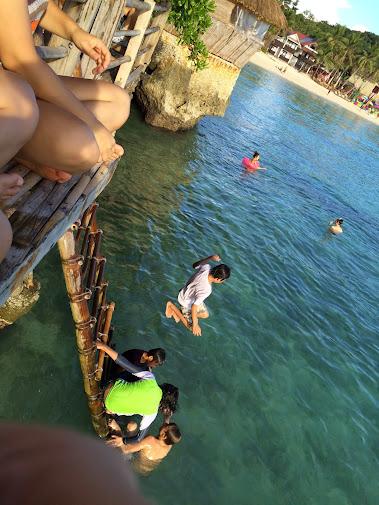 長灘島跳水