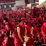 Massive religious gathering and enthronement of Dalai Lama's portrait in Lithang, Tibet. - l35.JPG