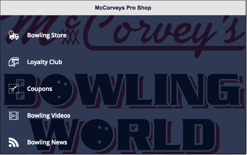 McCorvey's Bowling World- screenshot