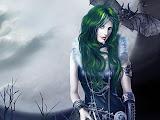 Vampire Lady Bat