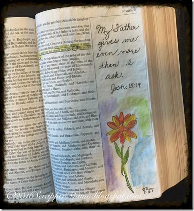 Bible Art - Josh 15
