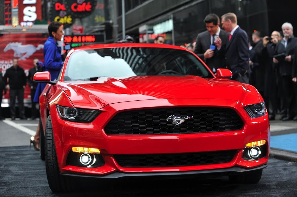 2015 Ford Mustang Times Square 1