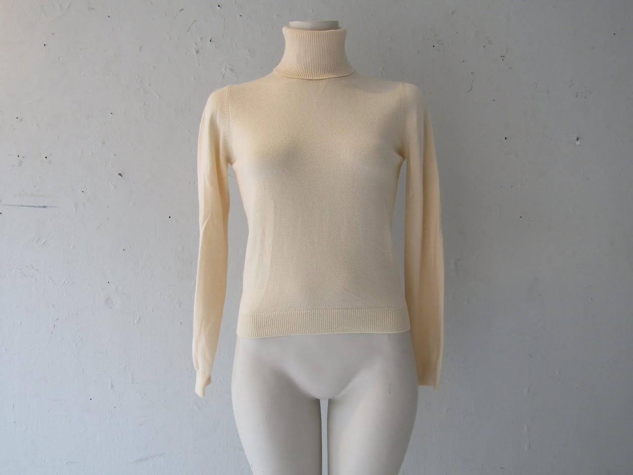 Valentino Wool, Silk, & Cashmere Turtleneck