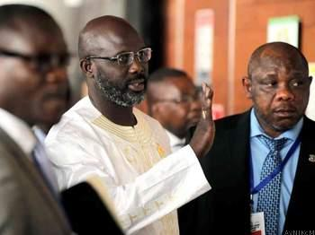 Facing a 'broke' Liberia, president George Weah cuts his own salary