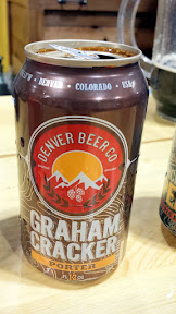 Denver Beer Co Graham Cracker Porter - they had a chocolate as well as a coconut chocolate they were pouring