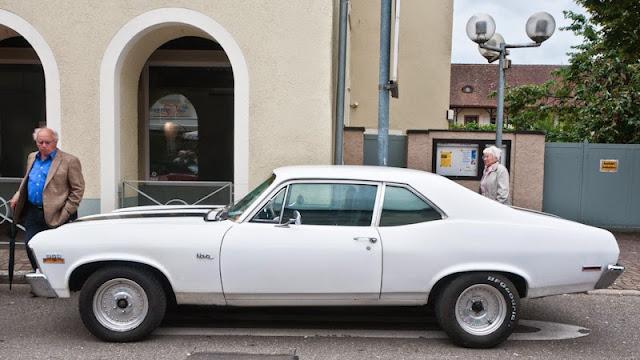 Die zweite Generation des Chevrolet Nova aus den 1970er Jahren