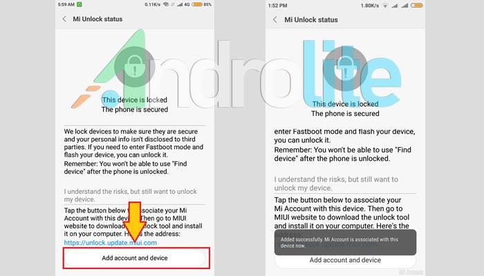 Xiaomi Mi Unlock Status Redmi 9
