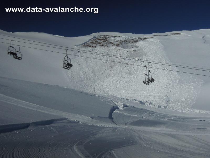 Avalanche Beaufortain, secteur Aiguille Croche - Photo 1 - © Bezard Nicolas et Detry Yves