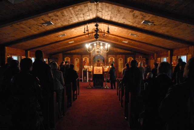 In the evening, clergy and faithful from the greater Long Island Orthodox community gather for the lenten Mission Vespers.
