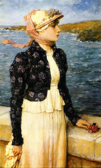 George Henry Boughton - The Sea Breeze
