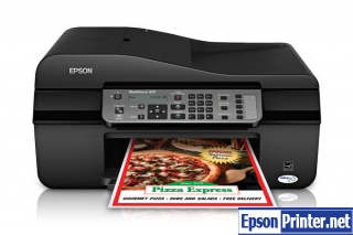 How to reset Epson WorkForce 325 printer