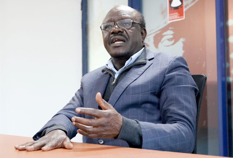 UNCTAD secretary general Mukhisa Kituyi during an interview with the star at the Lions place Westlands on September 10, 2020