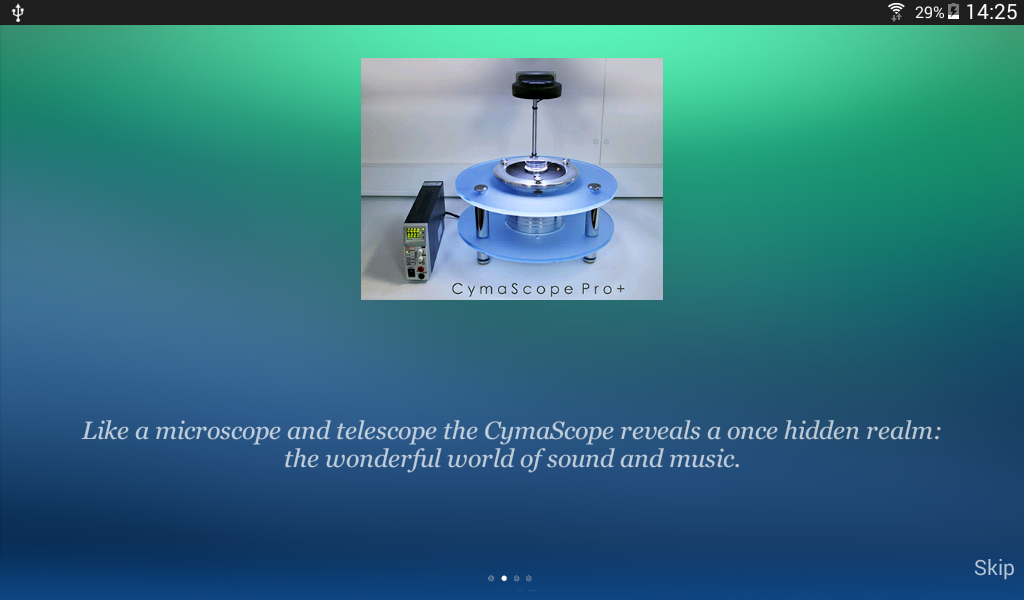 CymaScope - Music Made Visible- screenshot