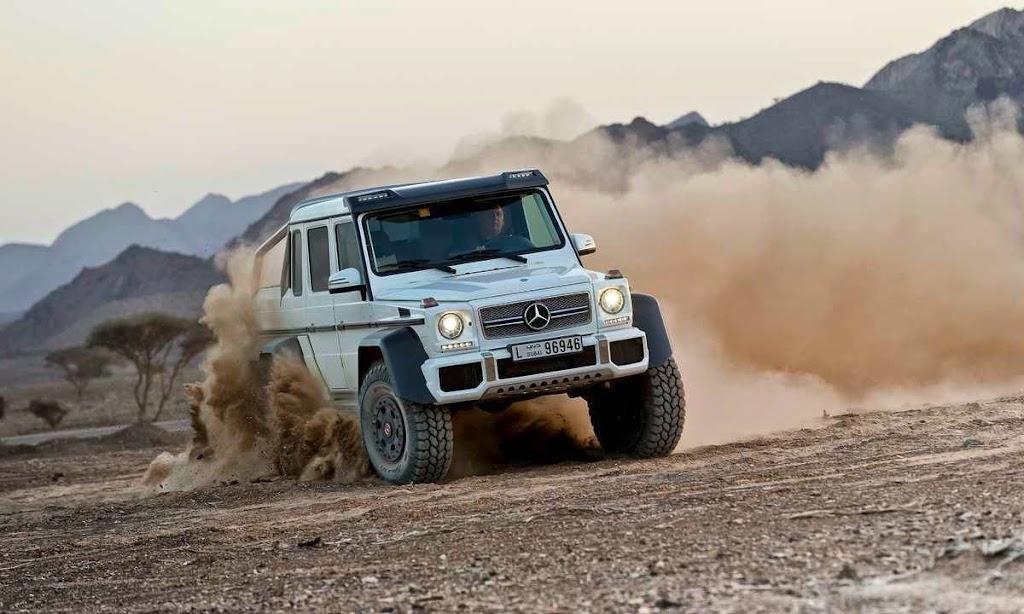 Mercedes-Benz G63 AMG 6x6 09