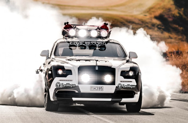 Custom Rolls-Royce Wraith racer by Jon Olsson