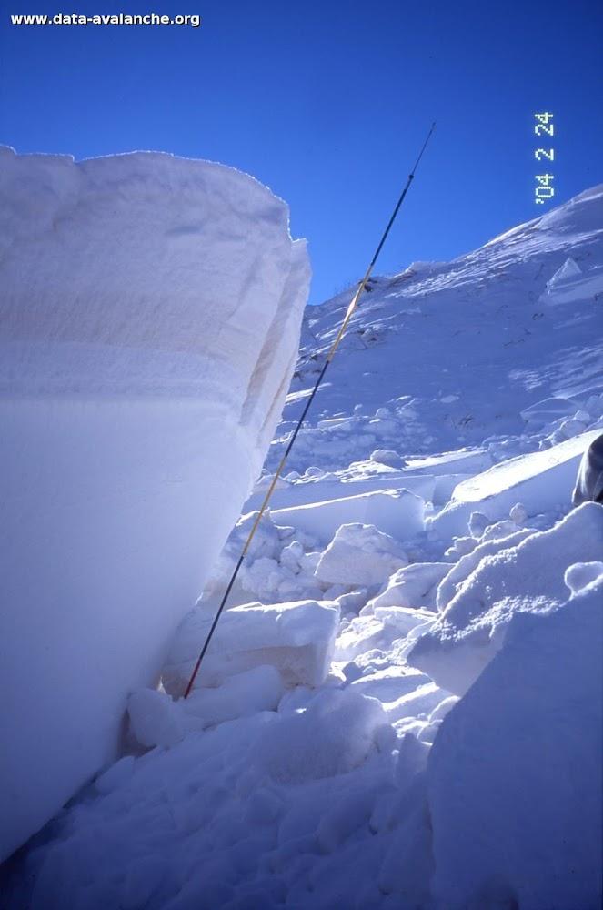 Avalanche Maurienne, secteur La sétaz des Prés, Sous télésiège de Montissot - Photo 1