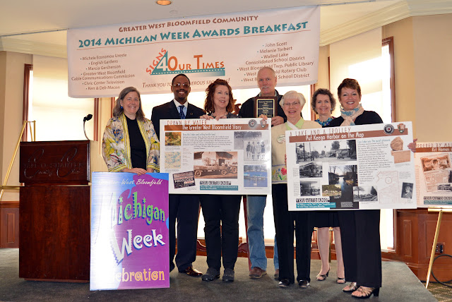 Greater West Bloomfield Michigan Week Community Awards Breakfast - Wayside%2BSigns%2BExhibits%2Bvolunteers.JPG
