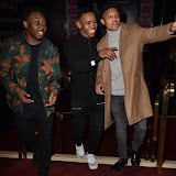 OIC - ENTSIMAGES.COM - Dee Kartier, Jovian Wade and Parcelle Ascott at the  Mandem on the Wall: Wall of Comedy - premiere in London 17th November 2015 Photo Mobis Photos/OIC 0203 174 1069