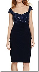 Lauren Ralph Lauren Sequin Bodice Dress