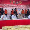 Gandeng Polda Metro Jaya, Ditjenpas Berhasil Gagalkan Peredaran Narkoba 1,129 Ton Jaringan Internasional