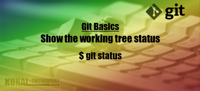 How to show the working Git tree status (www.kunal-chowdhury.com)