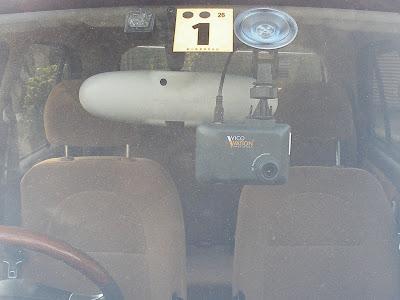 VICO-DS2を吸盤で取付け