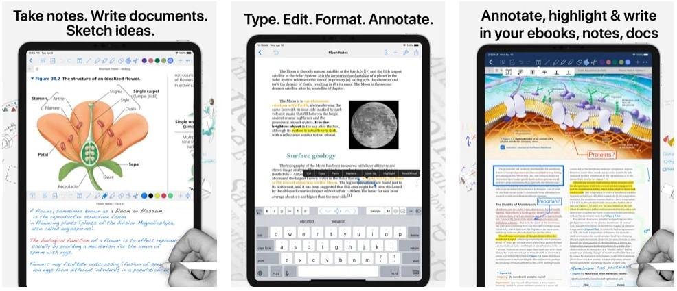 Notes Writer -Take Good Notes! - Handwrite,PDF Markup,Notebooks