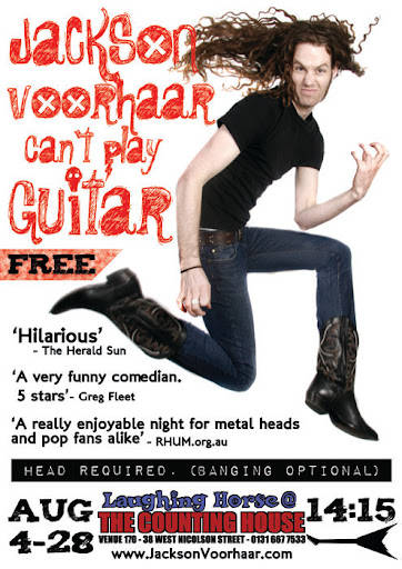 Jackson Voorhaar Can't Play Guitar