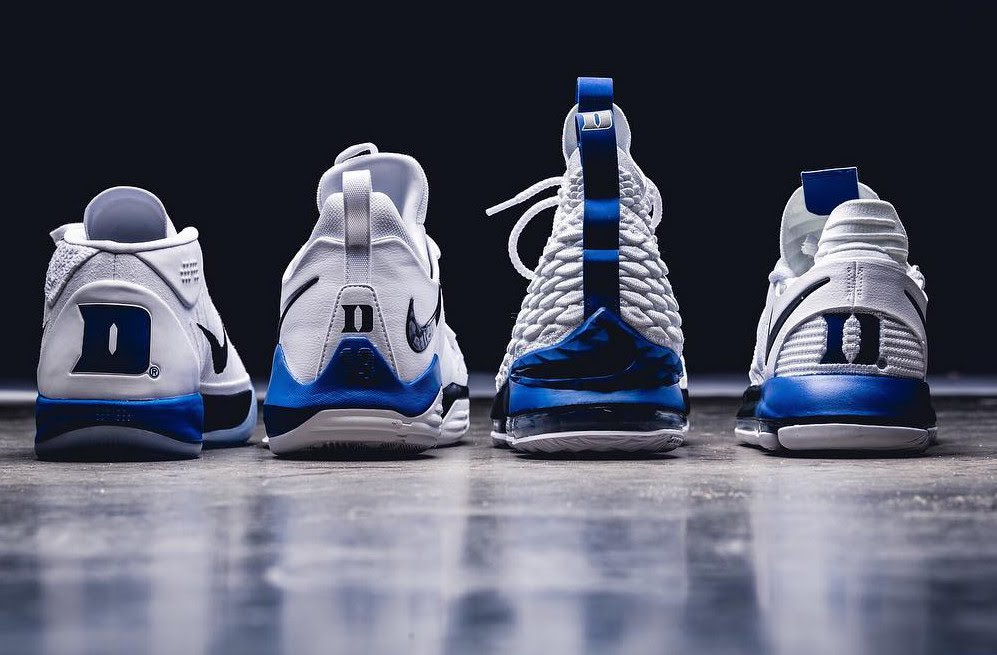 New Cheap Nike LeBron 12 Kentucky Wildcats Home PE