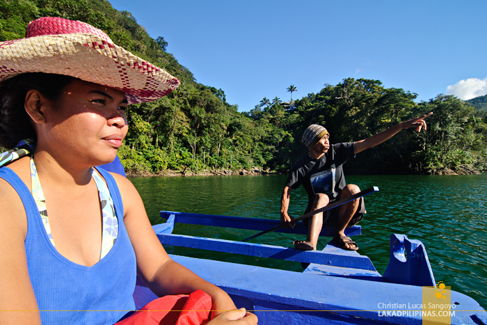 The Pinay Solo Backpacker at the Twin Lakes of Balinsasayao